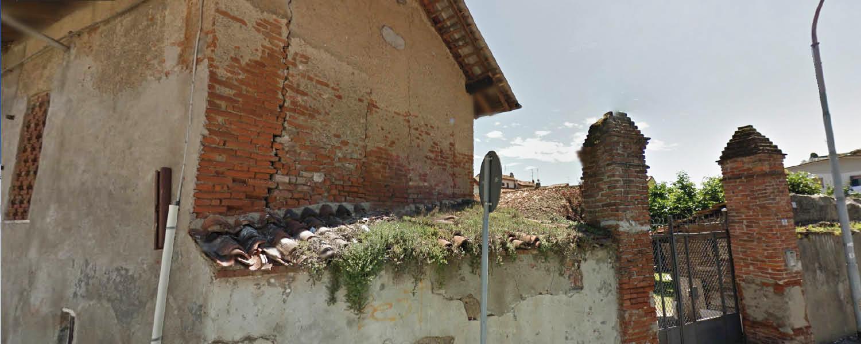 Cancello e muro di cinta a Gorgonzola