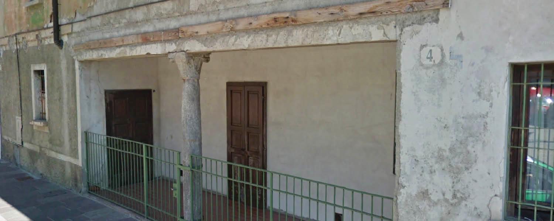 Uno scorcio con colonna, Gorgonzola