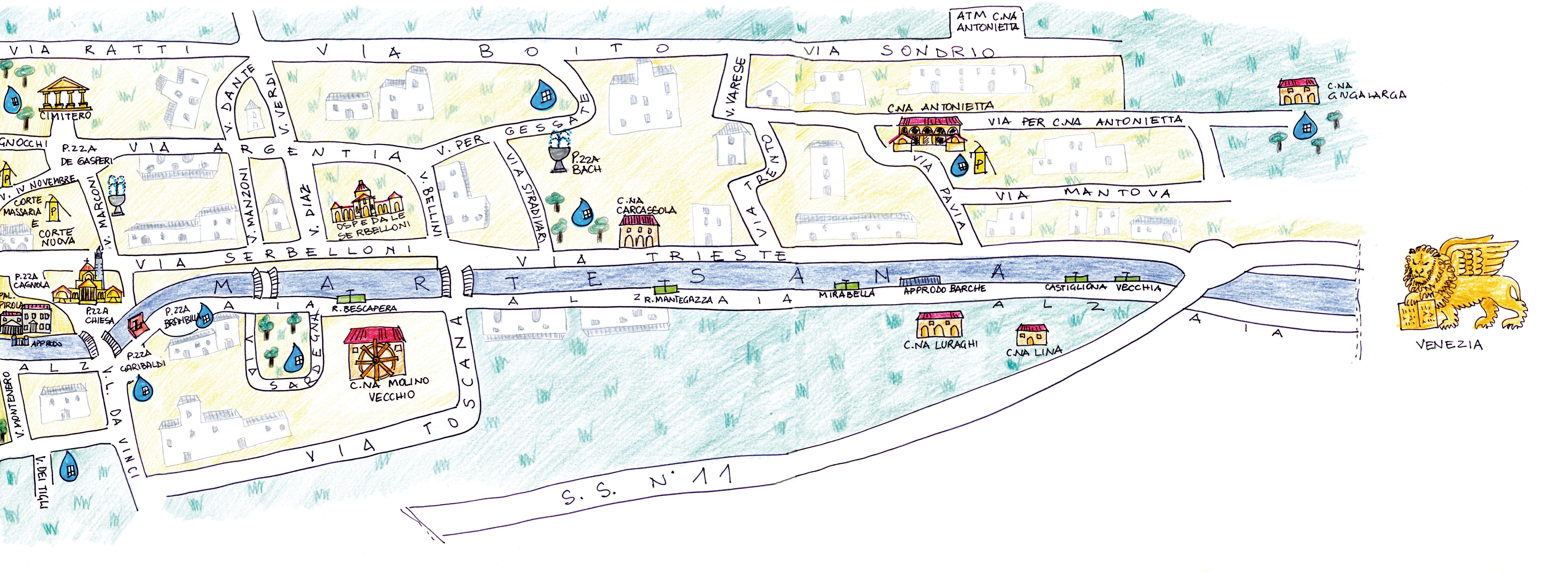 mappa delle acque seconda parte